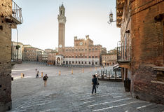 Piazza del Campo Stock Photo