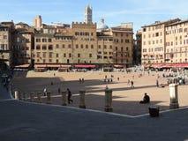 Piazza del Campo - Siena Imagen de archivo libre de regalías