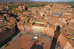 Piazza del Campo, Siena Royalty Free Stock Images
