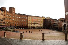 Piazza del campo siena Royalty Free Stock Images