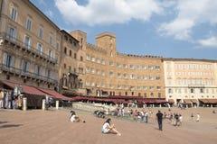 Piazza del Campo, Siena Stock Photos
