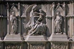 Piazza del Campo, Siena Italië Royalty-vrije Stock Foto