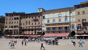 Piazza del Campo, Siena, Italia Fotos de archivo libres de regalías