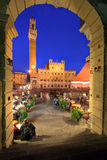 Piazza del Campo, Siena, Italy stock photos