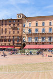 Piazza del Campo Royalty Free Stock Images