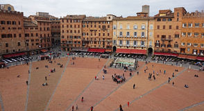 Piazza del Campo, Siena, Italy Royalty Free Stock Photography
