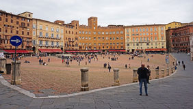 Piazza del Campo, Siena, Italy Royalty Free Stock Image