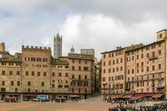 Piazza del Campo, Siena, Italy Stock Photography