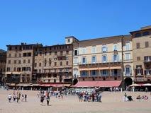 Piazza del Campo, Sienna, Italy Royalty Free Stock Photos