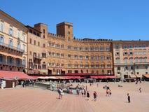 Piazza del Campo, Sienna, Italy Stock Photo