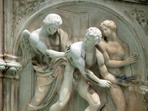 Piazza del Campo, Siena. Royalty Free Stock Photos