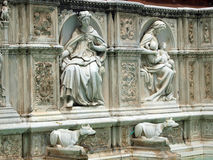 Piazza del Campo, Siena. Royalty Free Stock Photo