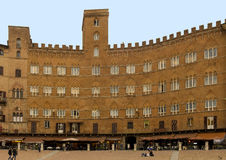 Piazza del Campo, Siena Royalty Free Stock Photography