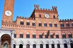 Piazza del campo Siena Stock Image