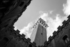 Piazza del Campo in Siena Royalty Free Stock Photo