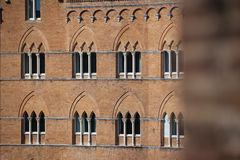 Piazza del Campo in Siena Stock Photos