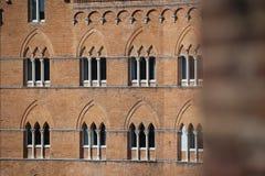 Piazza del Campo in Siena Stock Photos