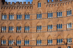 Piazza del Campo in Siena Stock Images