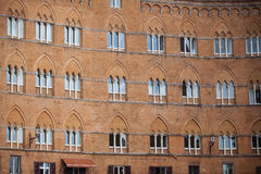 Piazza del Campo in Siena Stock Photo