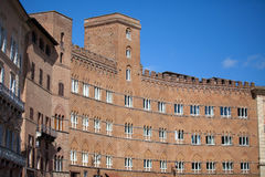 Piazza del Campo in Siena Royalty Free Stock Photo
