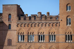 Piazza del Campo in Siena Stock Photography