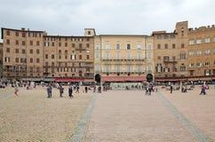 Piazza del Campo, Siena, Tuscany, Italy Stock Photos