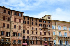 Piazza del Campo of Siena, Tuscany, Italy Royalty Free Stock Photos