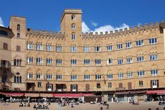 Piazza del Campo, Siena, Tuscany, Italy Royalty Free Stock Photos