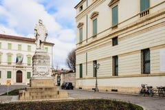Piazza del Castello, Vicenza Stock Images