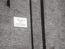 Piazza Del Colosseo, Rom stockbilder