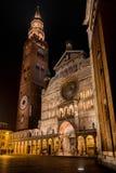 Piazza del Comune Square a Cremona fotografia stock