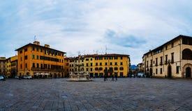 Piazza del Duomo,托斯卡纳,中央意大利 免版税库存图片