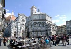 Piazza del Duomo Φλωρεντία Ιταλία Στοκ εικόνες με δικαίωμα ελεύθερης χρήσης