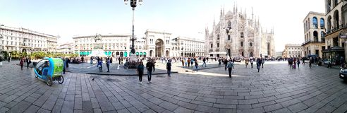 Piazza del Duomo stock photography