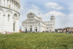 Piazza del Duomo Royalty-vrije Stock Foto's