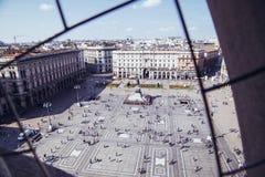 Piazza Del Duomo Stockfoto