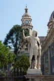 Piazza del Duomo in Catania Stock Photos