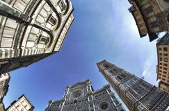 Piazza Del Duomo, Firenze Royalty Free Stock Photos