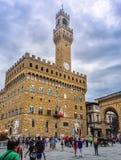 Piazza del Duomo a Firenze, Italia Immagine Stock