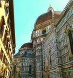 Piazza del Duomo, Florence, Italië Stock Foto's