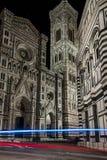 Piazza del Duomo Florence van Di stock foto's