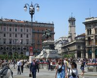 Piazza del Duomo Royalty Free Stock Photography