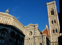 Piazza del duomo, m Florence, Italy. Buildings in Piazza del Duomo, Florence, Italy stock photos