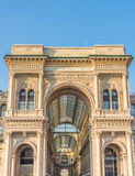 Piazza del Duomo Milán, Lombrady, Italia septentrional Imágenes de archivo libres de regalías