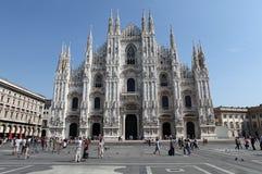 Piazza del Duomo, Milaan Royalty-vrije Stock Foto