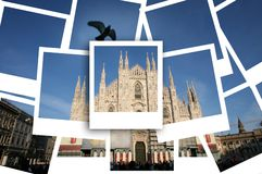 Piazza del Duomo in Milan Royalty Free Stock Photo