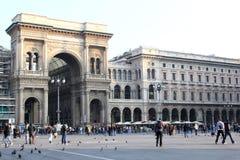 Piazza del Duomo, Milan, Italy Stock Images