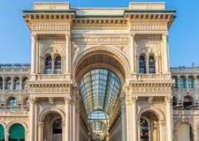 Piazza del Duomo Milan, Lombrady, Italie du nord Photo libre de droits
