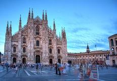 Piazza del Duomo, Milan Royalty Free Stock Image