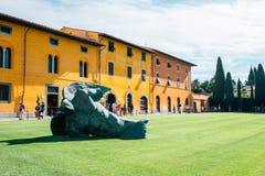 Piazza del Duomo, Museum in Pisa, Italy royalty free stock image